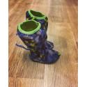 Softshellové dlouhé botičky s fleesem