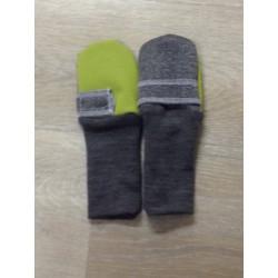 Softshellové rukavičky zateplené vlnou